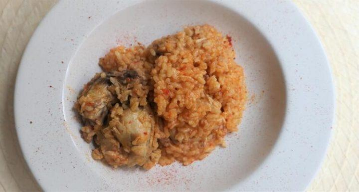 Mambo receta de arroz con pollo en Mambo