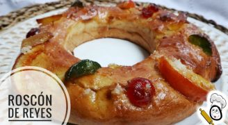 Roscón de Reyes hecho con Mambo de Cecotec