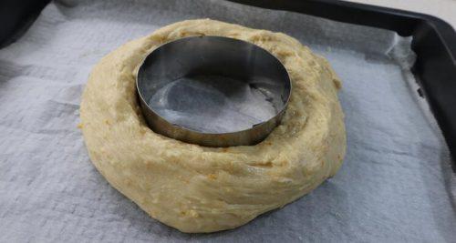 Cómo hacer la forma del roscón de Reyes