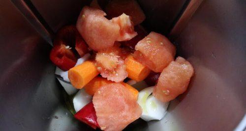 Cómo cortar las verduras con Thermomix