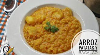 Cómo hacer un plato deliciosa de arroz con bacalao hecha de Mycook
