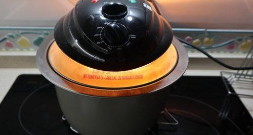 cabezal de horno en la olla gm