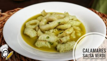Calamares con salsa verde en Mambo