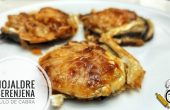 Una deliciosa y fácil receta de hojaldre con berenjena y rulo de cabra en Mambo