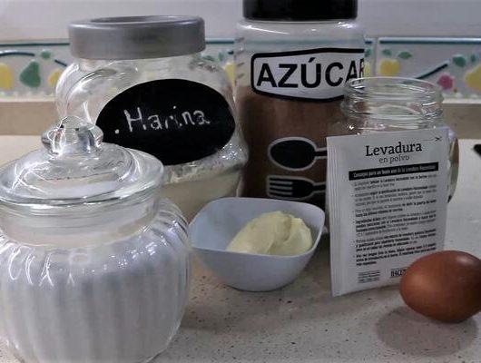 Ingredientes necesarios para hacer gofres con Thermomix