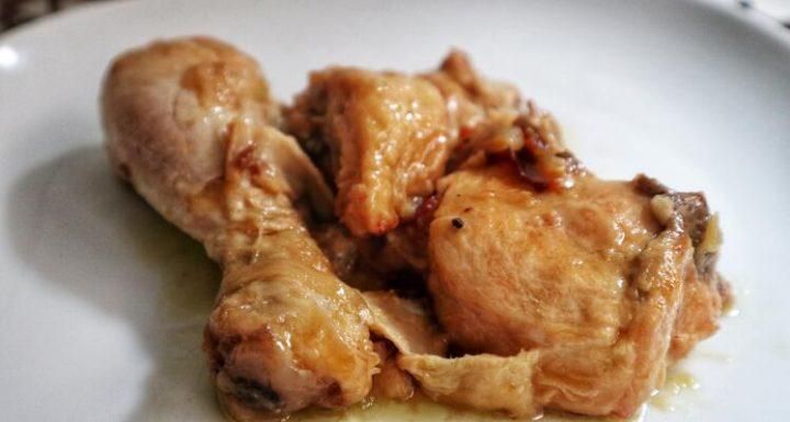 Cómo hacer unos muslo de pollo en salsa con la Olla Gm