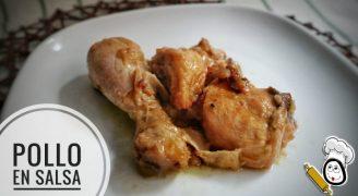 Receta de pollo en salsa con la Olla Gm