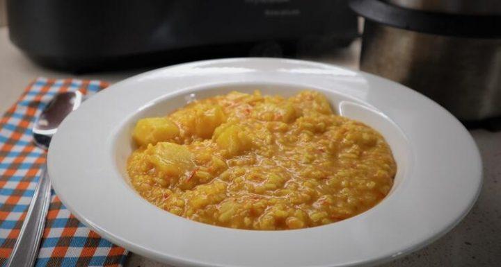 Receta de bacalao con arroz en Mycook