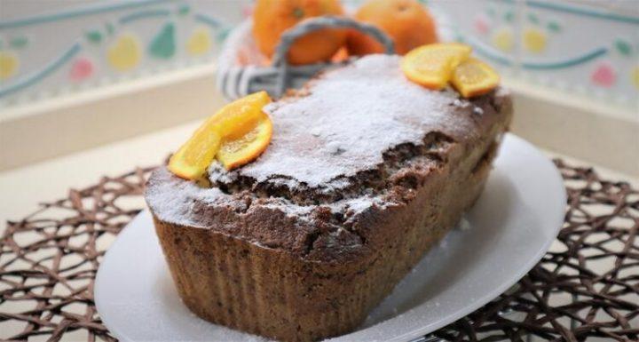 Ya tenemos lista nuestra receta de bizcocho de naranja con chocolate