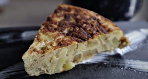 Tortilla de calabacín casera y fácil