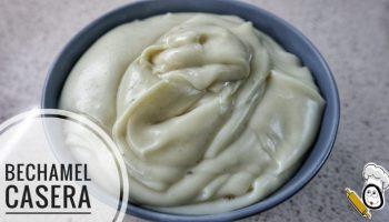 Cómo hacer salsa bechamel con Thermomix