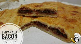 Cómo hacer empanada de bacon y dátiles casera