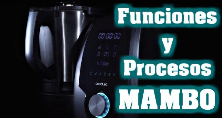 Cómo hacer recetas manual con Mambo de Cecotec
