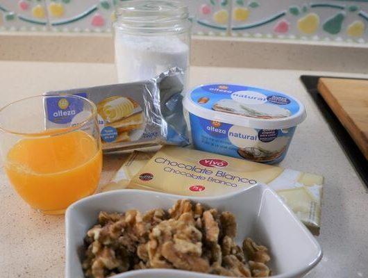 Ingredientes para hacer el relleno de la tarta
