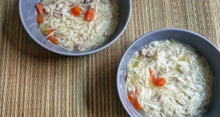 receta de caldo de pollo base para recetas