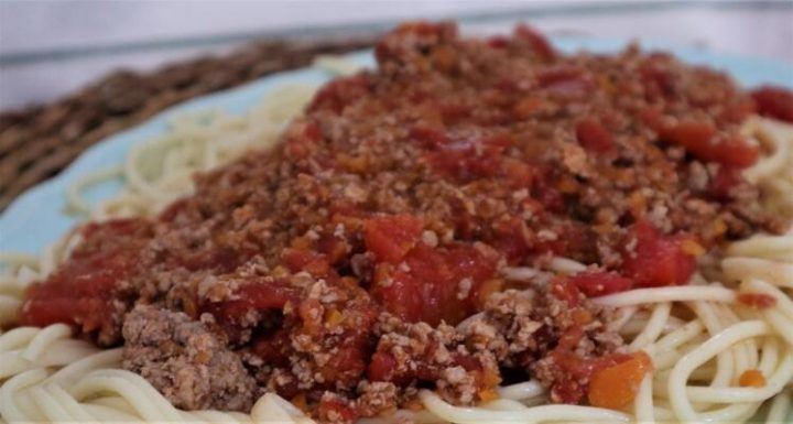 Cómo hacer la receta de salsa boloñesa con Thermomix tm5
