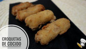 Croquetas de cocido hechas con Mambo de Cecotec