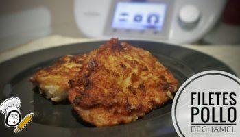 Cómo hacer filetes de pollo con bechamel en Thermomix