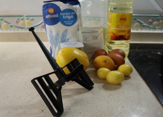 Los ingredientes necesarios para hacer el bizcocho 3 2 1 con Mycook de Taurus