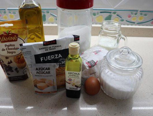 Los ingredientes necesarios para hacer doowaps caseros con Thermomix