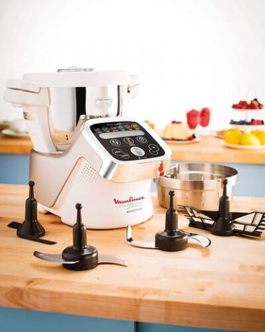 El robot de cocina de Molinex el HF800A Cuisine Companion