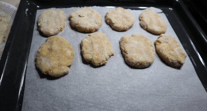 Cómo hacer nuggets de pollo sanos al horno
