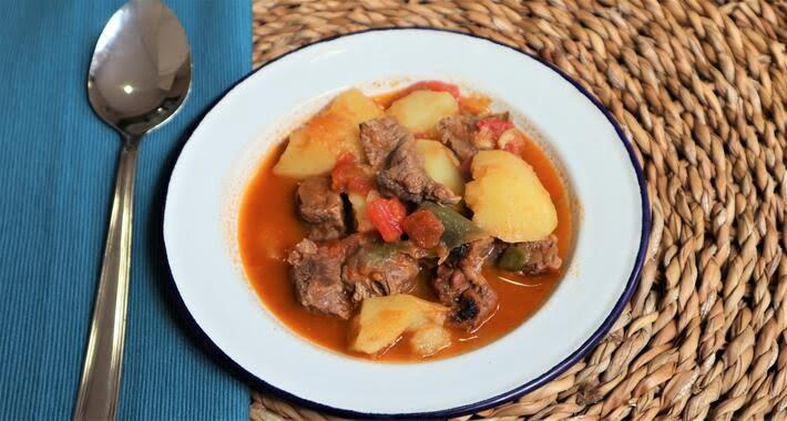 Cómo hacer la receta de guiso de patatas con Mambo