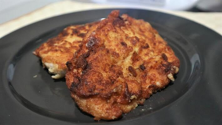 Receta de pollo con bechamel en Thermomix