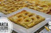 Cómo hacer tarta de hojaldre con frutas casera fácil