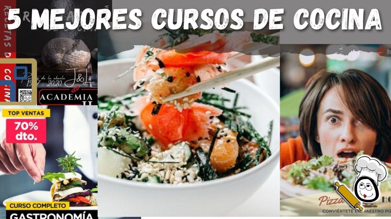 Los mejores cursos de cocina online