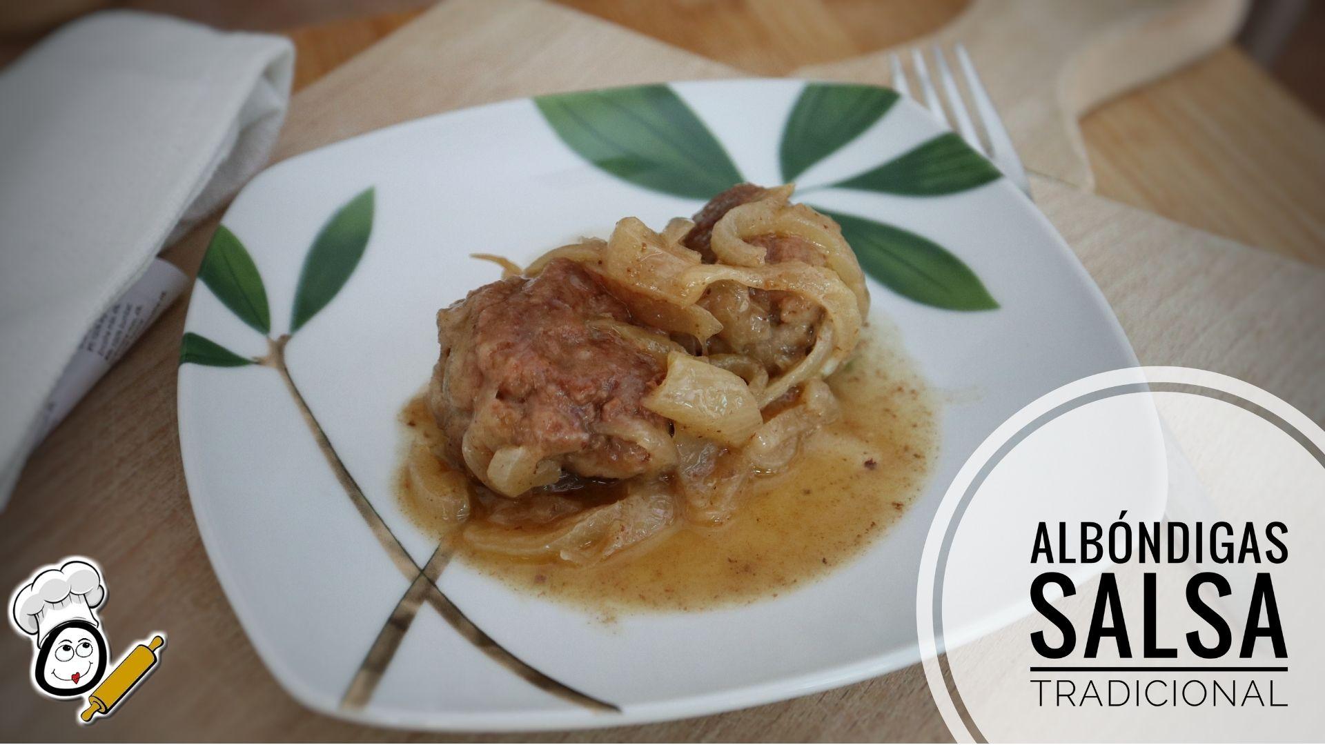 Cómo preparar una albóndigas con salsa casera