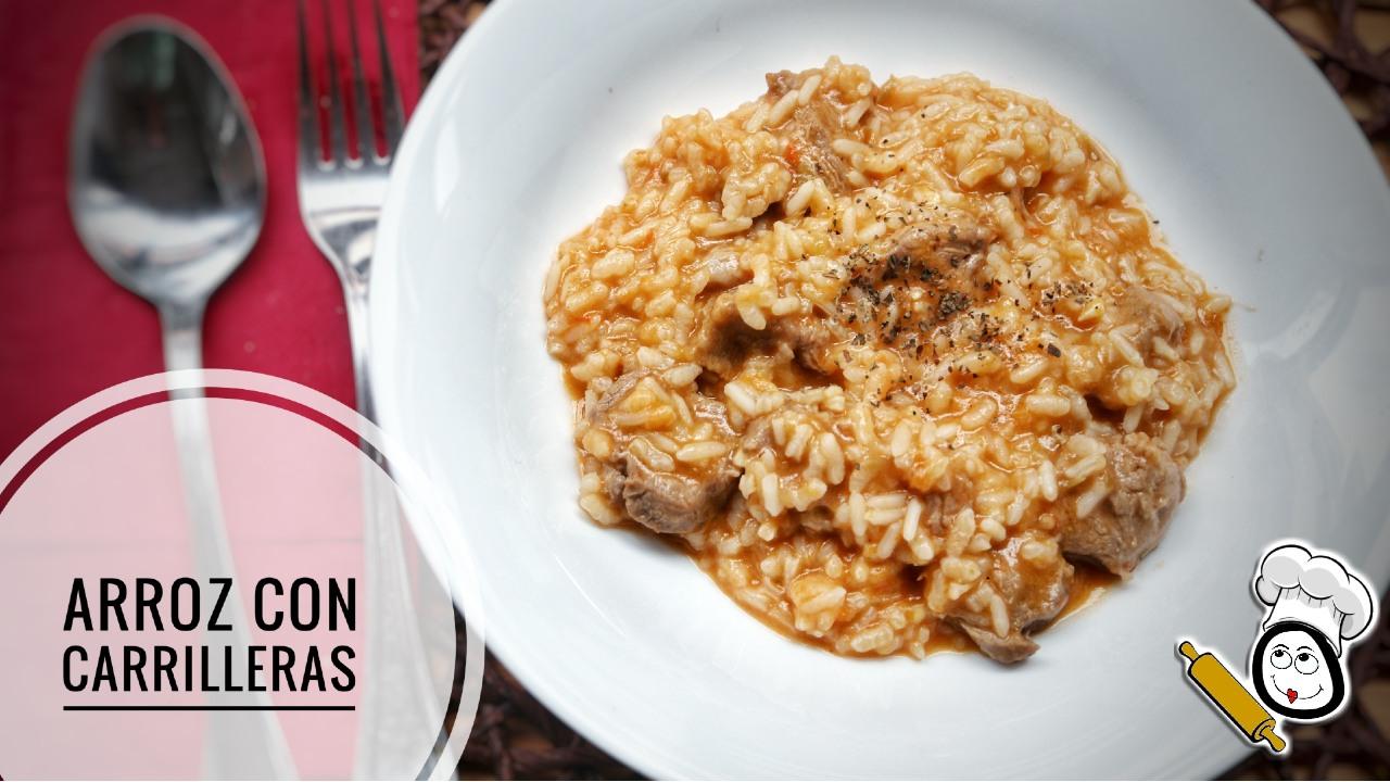 Como hacer la receta de arroz con carrillada en Thermomix