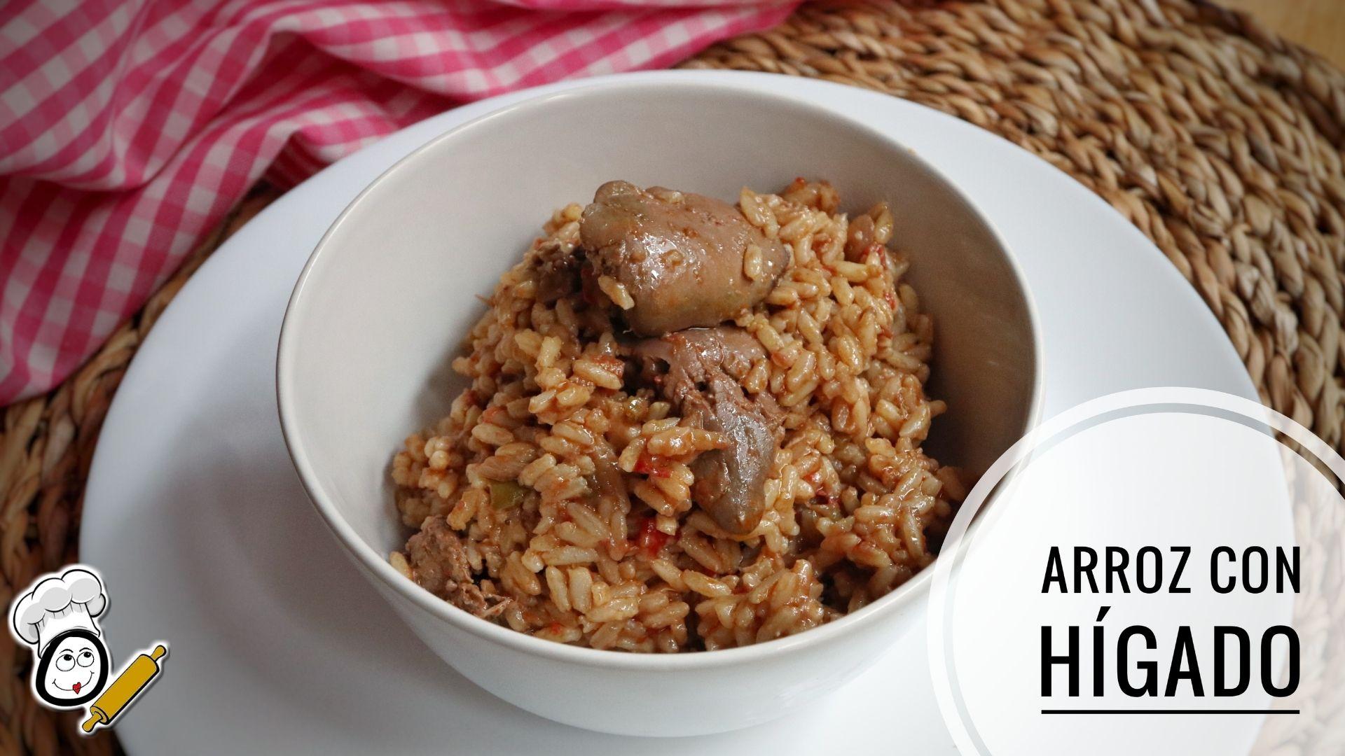 Cómo hacer la receta de arroz con hígado de pollo en Thermomix