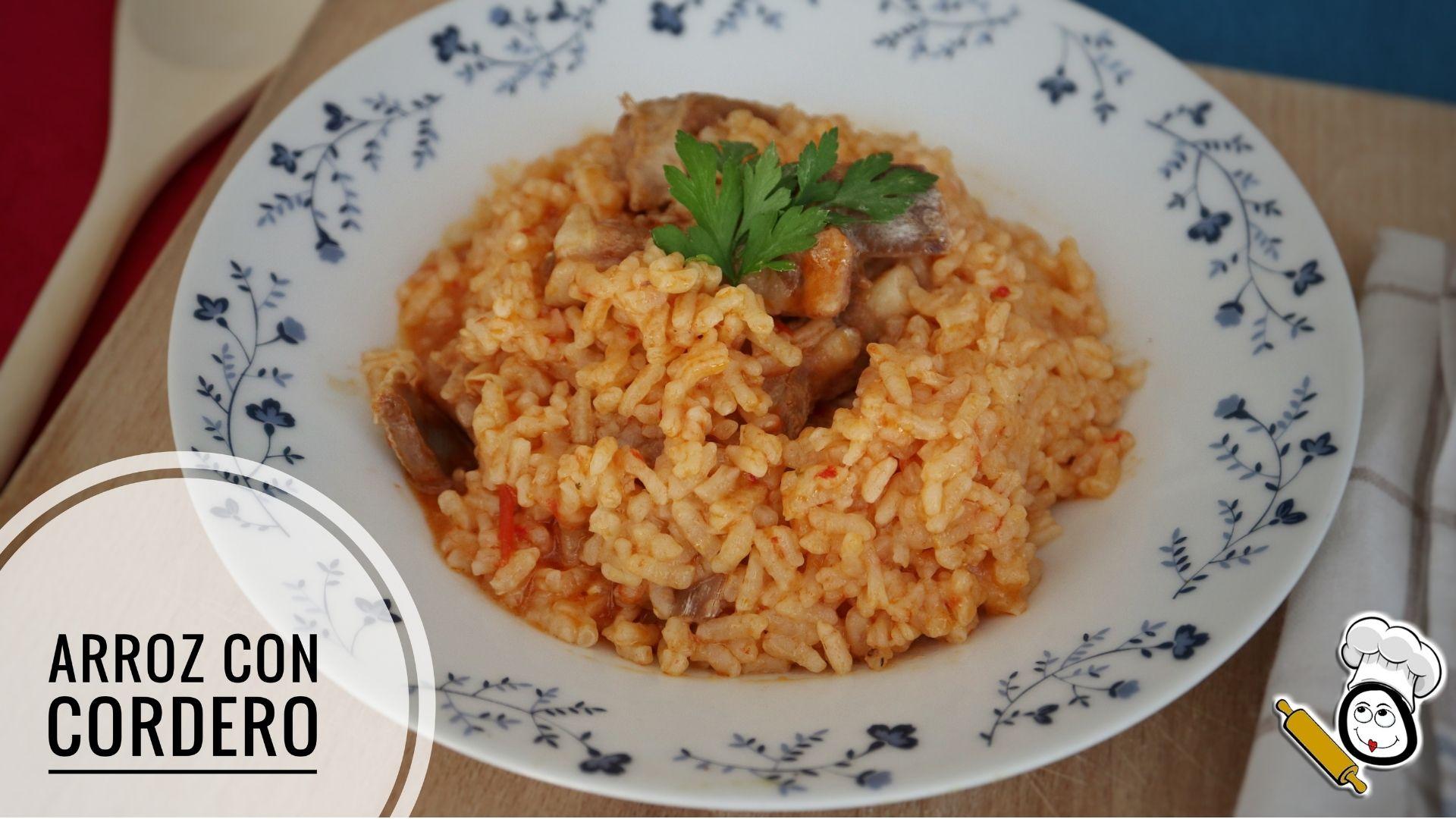 Como hacer la receta casera de arroz con cordero en Thermomix