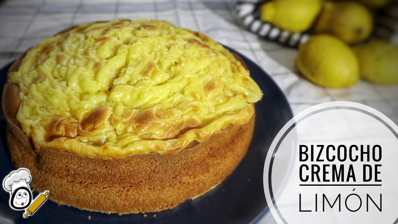 Cómo hacer un bizcocho esponjoso con crema pastelera de limón en Mambo