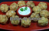 Bolitas de salmón receta casera
