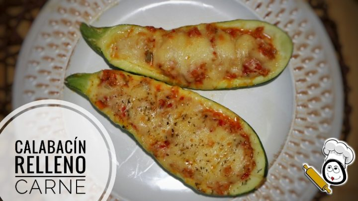 Calabacines rellenos Thermomix