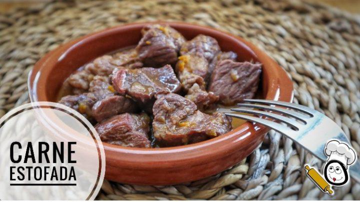 Carne estofada con Mambo de Cecotec