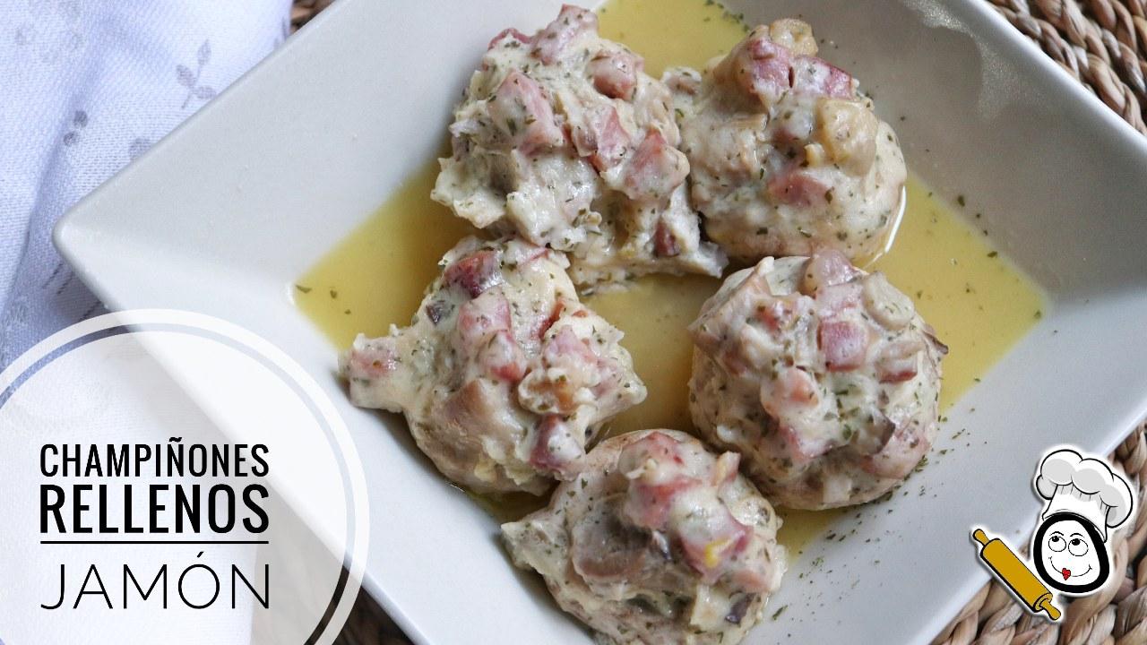 Cómo hacer la receta de champiñones rellenos de jamón con Mambo