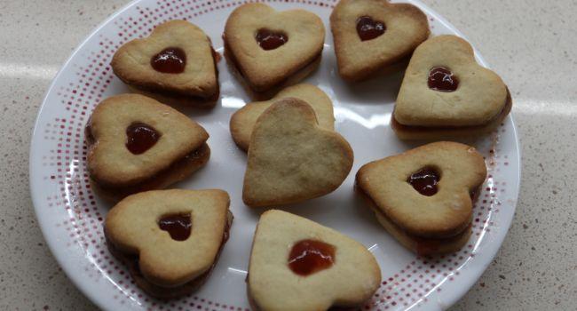 Cómo hacer con Thermomix las galletas con forma de corazón