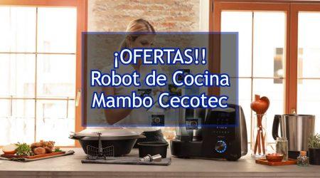 Las mejores ofertas y toda la información para comprar el robot de cocina Mambo de Cecotec