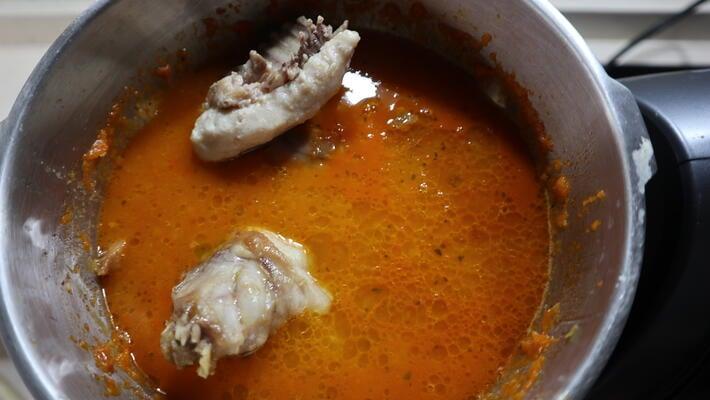 Preparar conejo en salsa