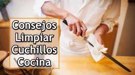 Los mejores consejos para limpiar fácilmente los cuchillos de cocina