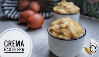 Cómo preparar crema pastelera fácil con Thermomix