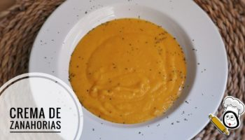 Crema de zanahorias con Mycook de Taurus