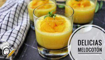 Cómo hacer la receta de delicias de melocotón en Thermomix