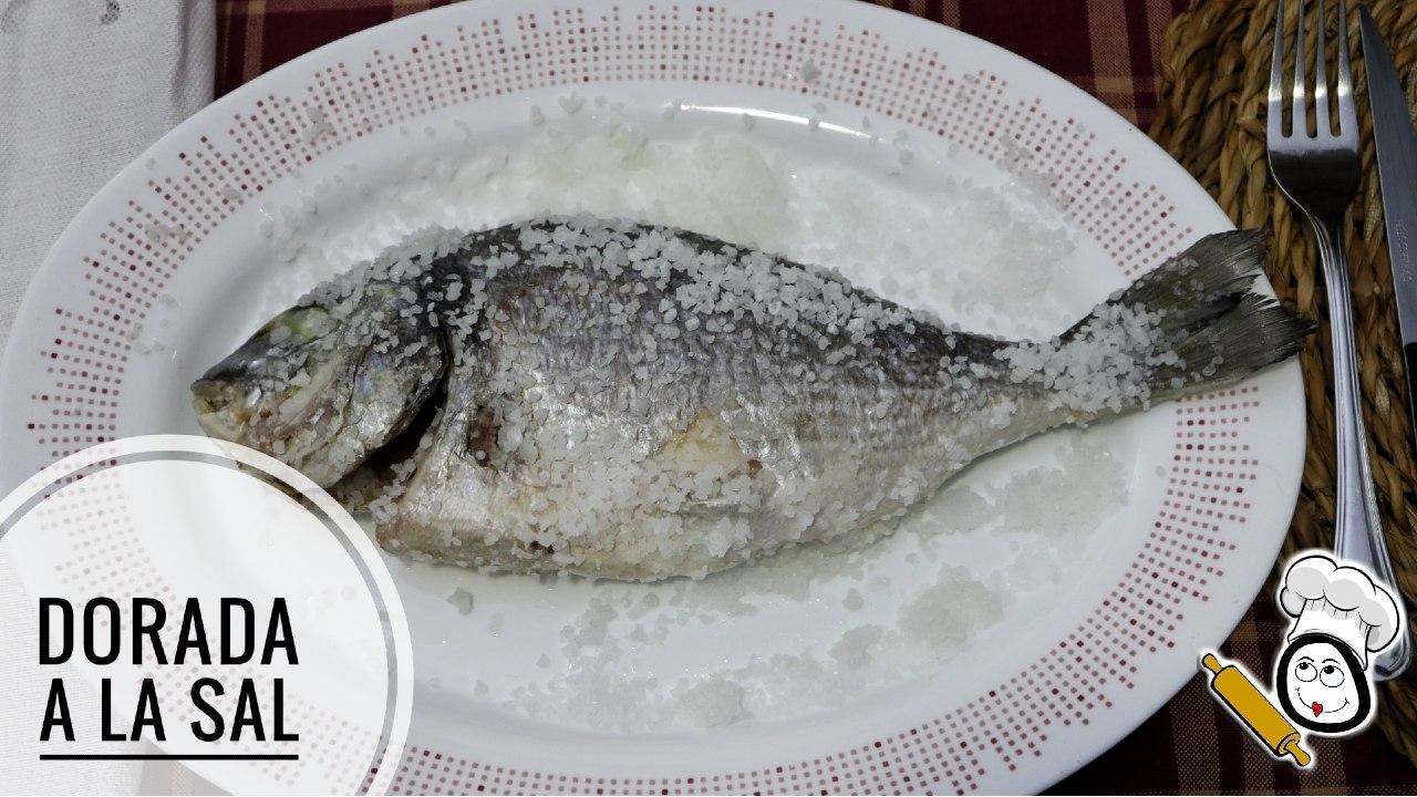 Como hacer la receta de dorada a la sal con Mambo