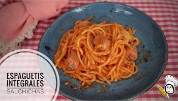 Como hacer la receta de espaguetis con salchichas frescas