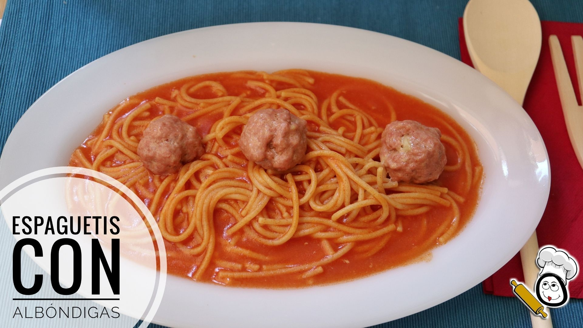 Cómo hacer la receta de espaguetis con albóndigas
