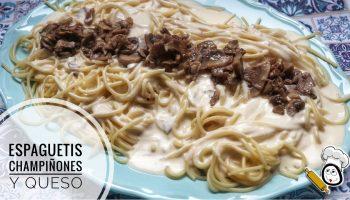 Cómo elaborar unos espaguetis con champiñones en Thermomix
